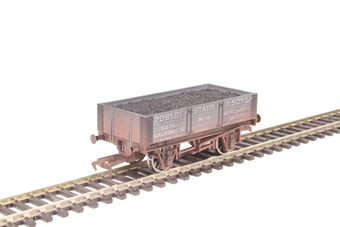 """4F-040-024 4-plank open wagon """"Robert Stark"""" - weathered"""