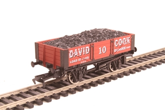 "4F-040-027 4-plank open wagon ""David Cook"""
