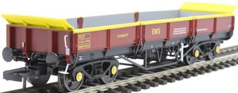 4F-043-001 YCV 'Turbot' bogie ballast wagon DB978363 in EWS maroon