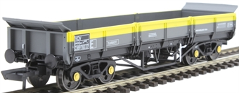 4F-043-004 YCV 'Turbot' bogie ballast wagon DB978337 in BR Civil Engineers 'Dutch'
