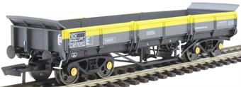 4F-043-006 YCV 'Turbot' bogie ballast wagon DB978702 in BR Civil Engineers 'Dutch'