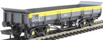 4F-043-010 YCV 'Turbot' bogie ballast wagon DB978003 in Civil Engineers 'Dutch'