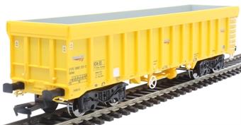 4F-045-009 IOA bogie wagon 3170 5992 031-2 in Network Rail yellow