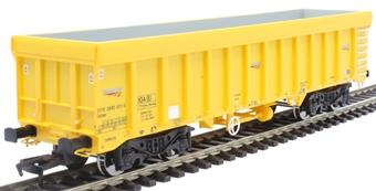 4F-045-010 IOA bogie wagon 3170 5992 001-5 in Network Rail yellow