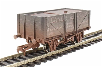 """4F-051-024 5 plank wagon """"Candy & Co"""" - weathered"""