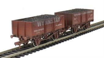 4F-051-046 5 Plank Twin Pack - 'Wynstay Ruabon' & 'Cefn Mawr & Rhos' (Weathered)