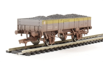 4F-060-006 Grampus wagon DB981487 in Civil Engineers Dutch - weathered
