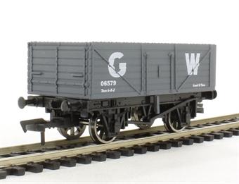 """4F-071-001 7 plank wagon """"GWR"""""""