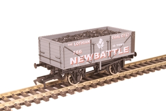 """4F-071-112 7-plank open wagon """"Newbattle Colliery, Midlothian"""""""