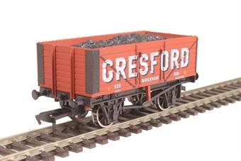 "4F-071-136 7-plank open wagon ""Gresford, Wrexham"""