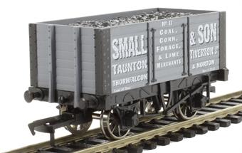 "4F-072-003 7 plank wagon internally braced ""Small & Son"""