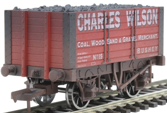 "4F-072-014 7-plank open wagon ""Charles Wilson"" - weathered"