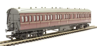 4P-010-029 RTR 57ft Stanier non-corridor composite in BR lined maroon M19172M