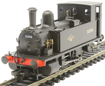 4S-018-005D LSWR Class B4 0-4-0T 30096 in BR black with late crest - Digital fitted