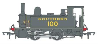 4S-018-008 LSWR Class B4 0-4-0T 100 in SR lined black