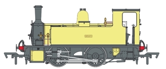 "4S-018-010D LSWR Class B4 0-4-0T ""Sussex"" in Stewarts and Lloyds Ltd yellow - Digital fitted"