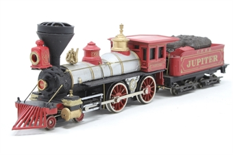 """51124-PO01 American 4-4-0 steam loco & tender """"Jupiter"""" in Central Pacific livery - Pre-owned - replacement box"""