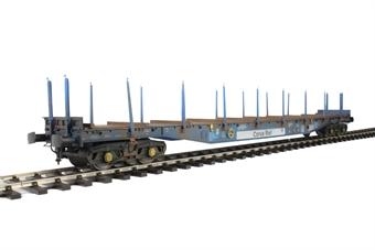 5153 Bogie flat IWB Cargowaggon 4647039 in Corus Rail livery - weathered