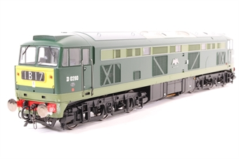 5351-PO01 Class 53 D0280 'Falcon' in BR two tone green with small yellow panels. - Pre-owned - glue marks on bufferbeam