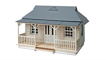 5400 Cricket Pavillion - laser cut wood kit