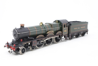 54124-PO29 Castle Class 4-6-0 4087 'Cardigan Castle' in GWR Green - Pre-owned - renumbered, renamed & repainted - detailed with etched nameplates