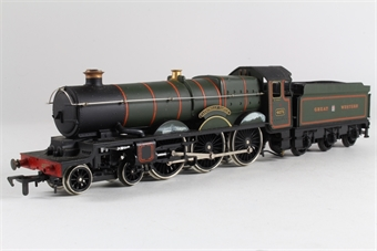 54124-SAS Class 4073 'Caerphilly Castle' 4-6-0 in GWR Green - Pre-owned - sold as seen - non runner £20