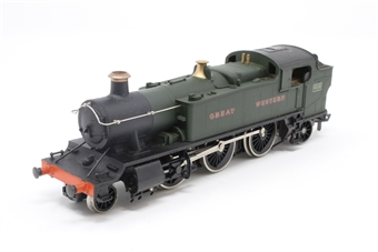 54150-PO22 Class 61xx Prairie 2-6-2T 6110 in GWR Green - Pre-owned - slow runner - missing forward coupling - imperfect box £18