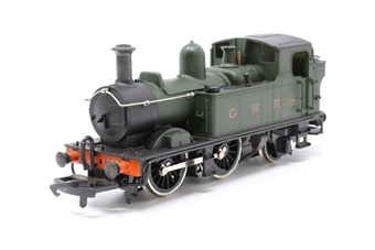 54152-7-PO44 Class 14xx 0-4-2T 1466 0-4-2 tank in GWR green - Pre-owned - Like new, imperfect box
