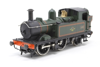54153-PO21 Class 14xx 0-4-2T 1466 in BR Lined Green - Pre-owned - Poor runner, loose pipe on sides, minnor marks on sides, missing couplings, hand rails ans air pipes, imperfect box