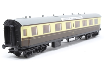 54207-PO20 GWR Composite in Chocolate & Cream 6659 - Pre-owned - missing one coupling, imperfect box £9