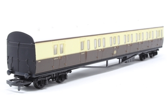 54250-PO54 B Set coach 6895 in GWR brown and cream - Pre-owned - Like new - imperfect box