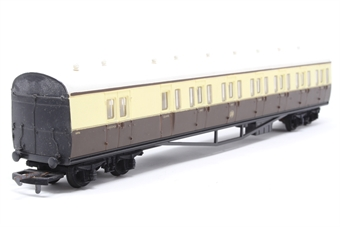 54250-PO56 B Set coach 6896 in GWR brown and cream - Pre-owned - Like new -worn box