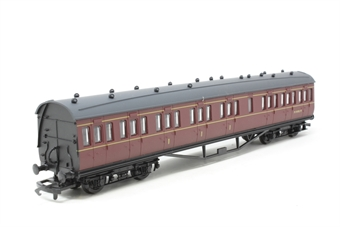 54252-6-PO24 Ex-LMS 57' non-corridor composite M19195M in BR Maroon - Pre-owned - Like new