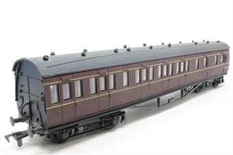 54254-2-PO22 Ex-LMS 57' Brake 3rd M25250M in BR Maroon - Pre-owned - Like new