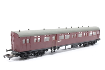 54256-PO32 Auto-Trailer in BR Maroon - 'Didcot' - Pre-owned - Marks on roof, replacement box