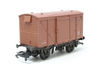 54300-PO08 12 ton planked vent van in BR bauxite - Pre-owned - Like new - imperfect box