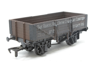 54377-PO11 5-plank open wagon - Harts Hill - Pre-owned - weathered, imperfect box