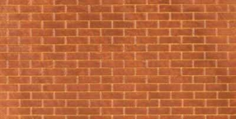 58401 Embossed plasticard sheets - plain bond brick - pack of two