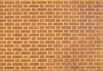 58403 Embossed plasticard sheets - Flemish bond brick - pack of two