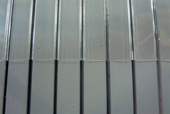 58413 Embossed plasticard sheets - profiled steel cladding - pack of two