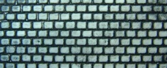 58415 Embossed plasticard sheets - roofing slate - pack of two