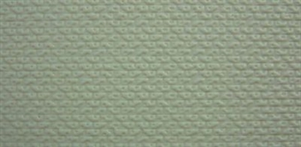 58418 Embossed plasticard sheets - textured concrete blocks - pack of two