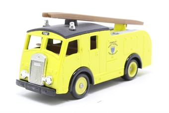 60003Lledo-PO 1955 Dennis F8 Fire Engine West Sussex Fire Brigade - Pre-owned - Like new