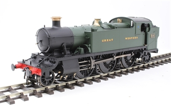 6100 Class 61xx 'Large Prairie' 2-6-2T 6110 in GWR green with Great Western lettering