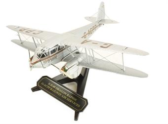"72DR006 De Havilland Dragon Rapide Biplane ""Railway Air Services"" GACPP"