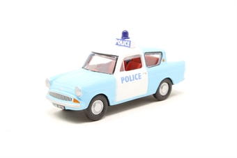 76105003-PO01 Ford Anglia 105E police car in light blue and white - Pre-owned - Like new £3