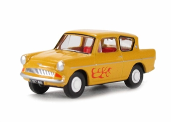 76105008 Ford Anglia Yellow - The Young Ones