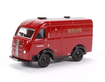 76AK015 Austin K8 van Midland red
