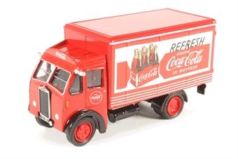 76ALB001CC Albion Box Van Coca Cola