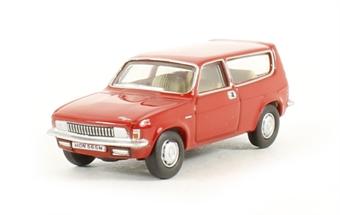 76ALL002 Austin Allegro Estate in Flamenco red